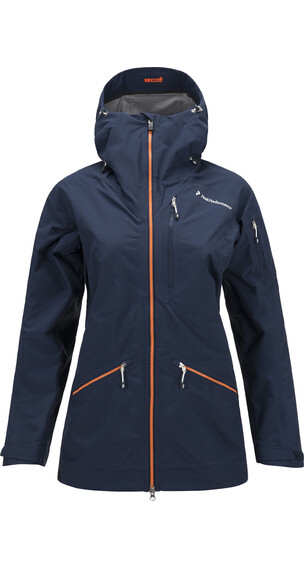 Peak Performance W's Radical 3L Jacket Mount Blue